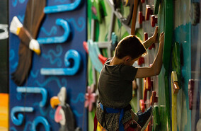 Indoor Climbing area for kids